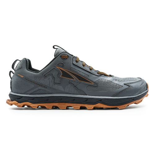 AltraLonePeakGray M - Altra Lone Peak 4.5 Hombre Gray/Orange