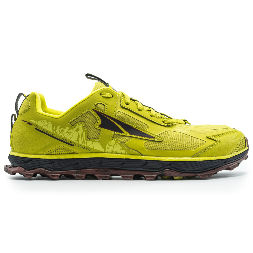 LonePeak4.5 LimeRed - Altra Lone Peak 4.5 Hombre Lime/Red